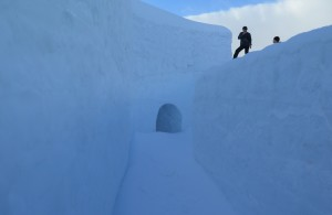 Śnieżny labirynt - Zakopane