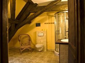 Gościniec pod Zielonym Jajem - łazienka