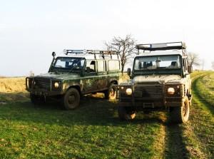 Gościniec pod Zielonym Jajem - Land Rover na torze Off Road