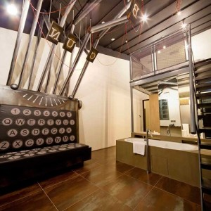 HOTEL WANDERLUST, Singapur (alux.com)