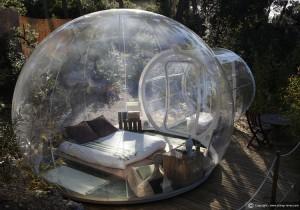 bubble tent - gardent