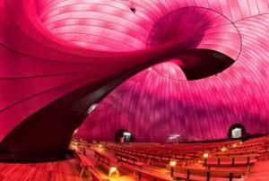 Lucerne Festiwal Ark Nova (sufit)